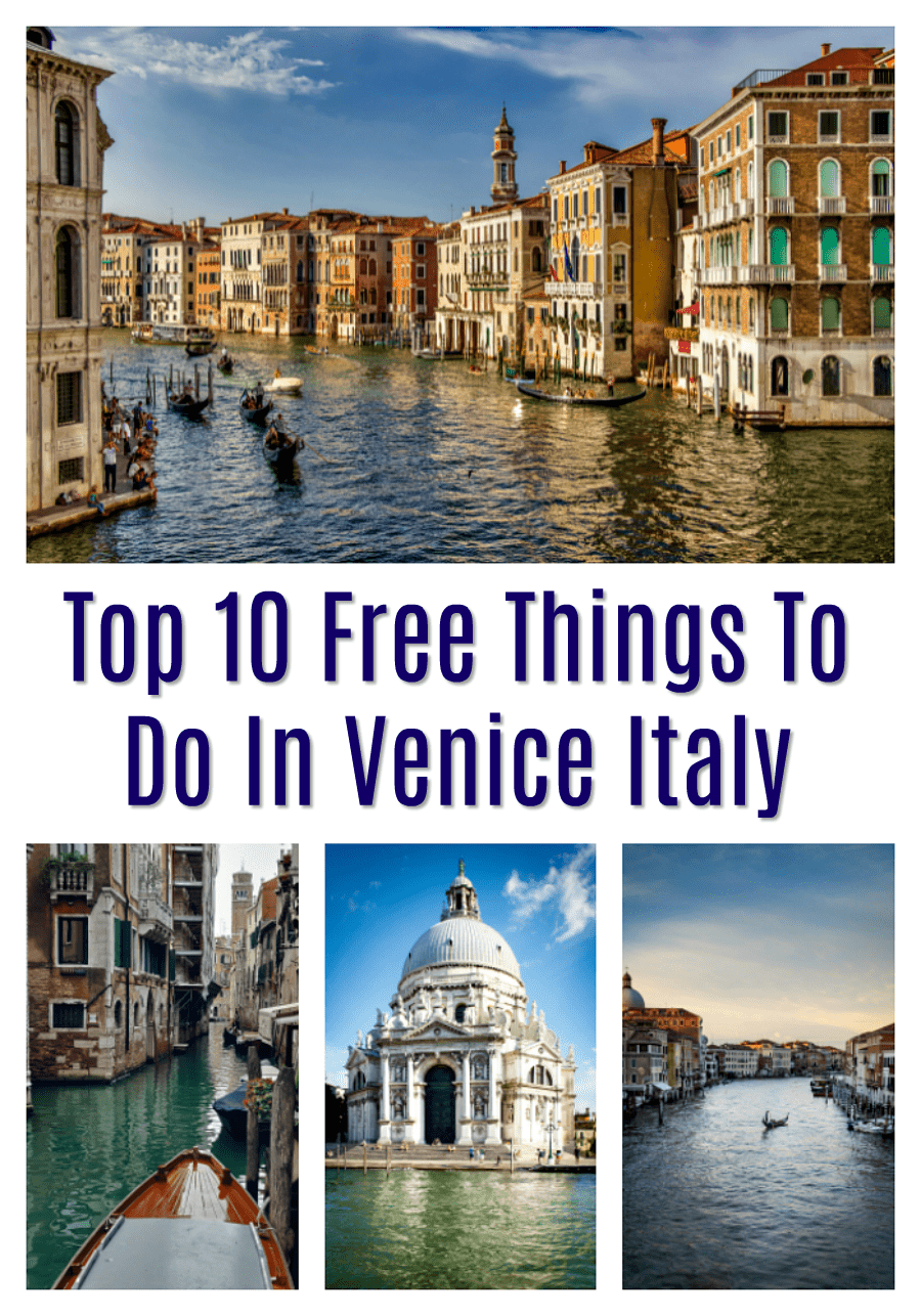 Best Free Things to Do in Venice Italy