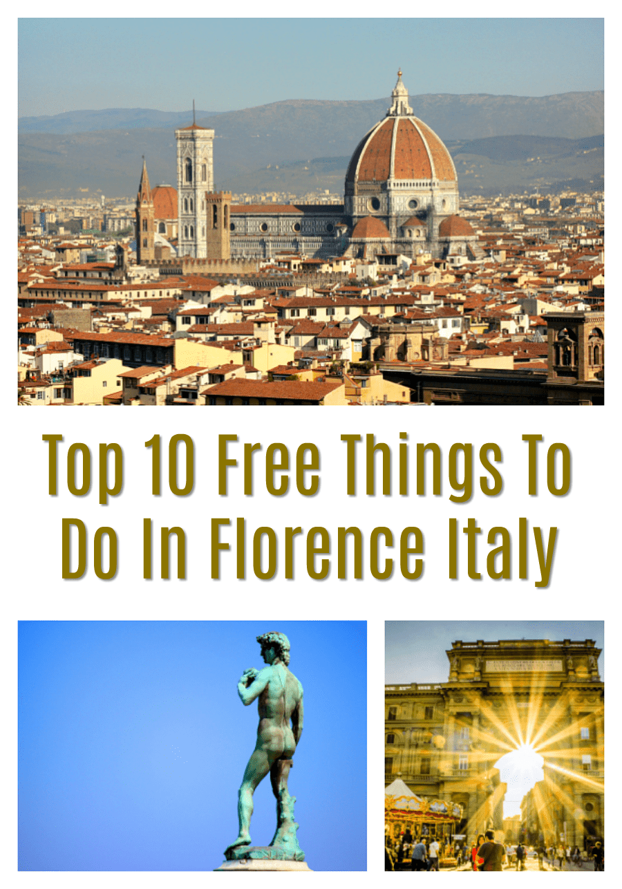 Top Free Things to Do in Florence Italy