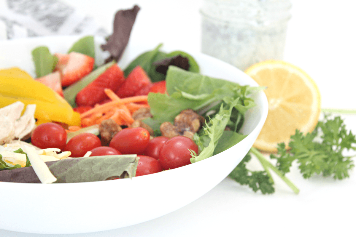Tasty Homemade Low Fat Ranch Dressing
