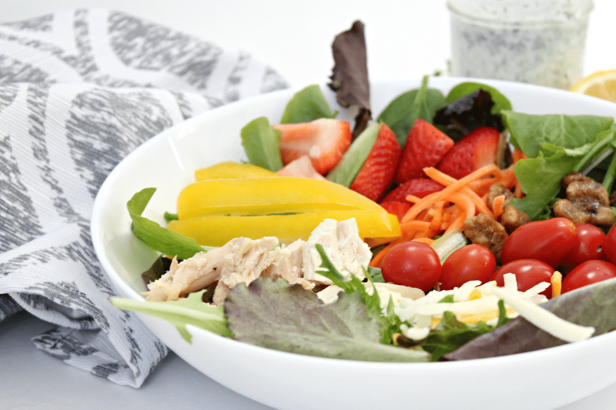 Best Homemade Low Fat Ranch Salad Dressing