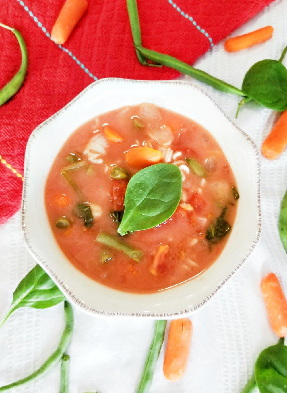 Best Slow Cooker Vegetable Soup