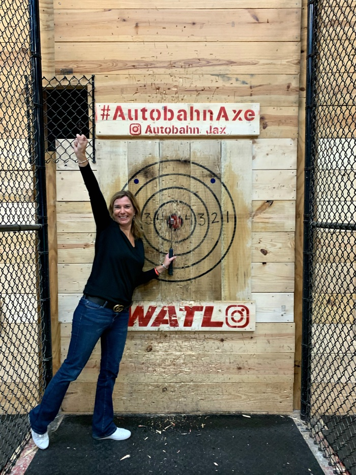 Things To Do In Jacksonville Axe Throwing at Autobahn