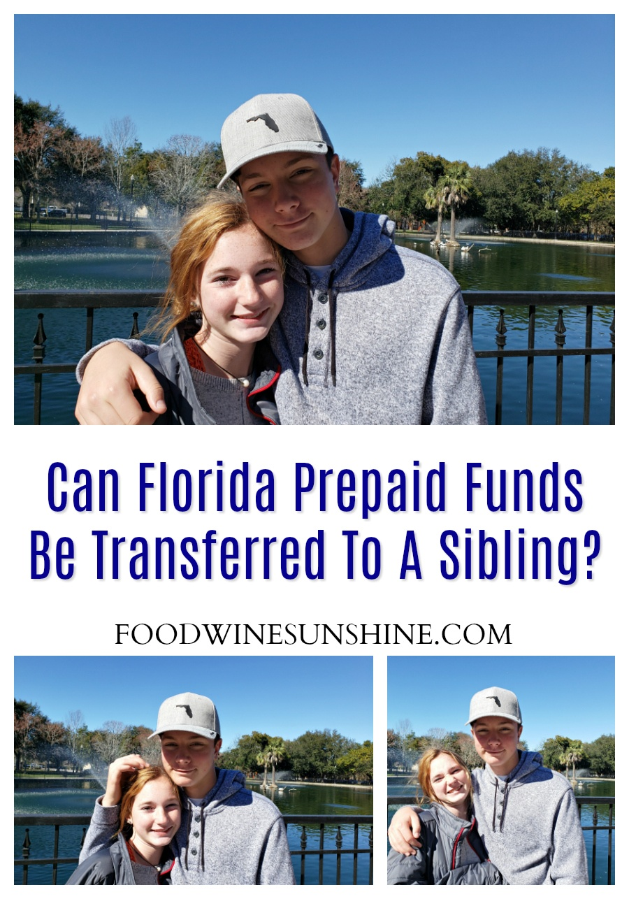 Can Florida Prepaid Funds Be Transferred To A Sibling?