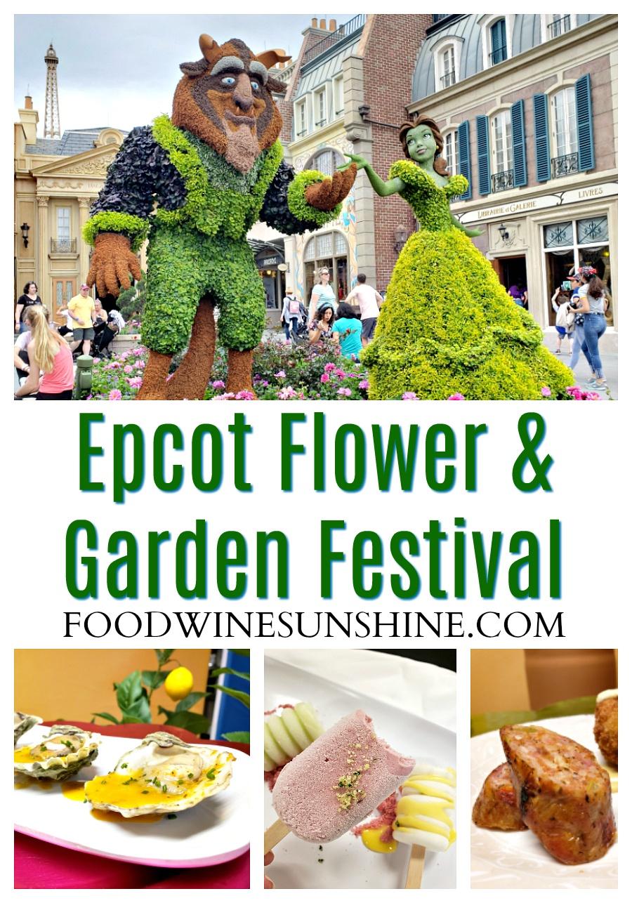 Epcot Flower & Garden Festival Information