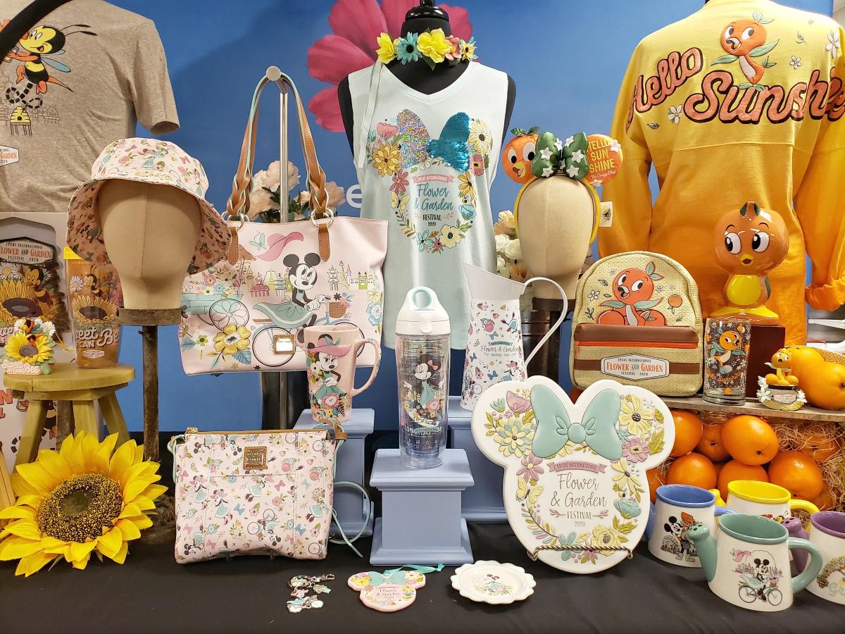 2020 Epcot Flower & Garden Festival Merchandise