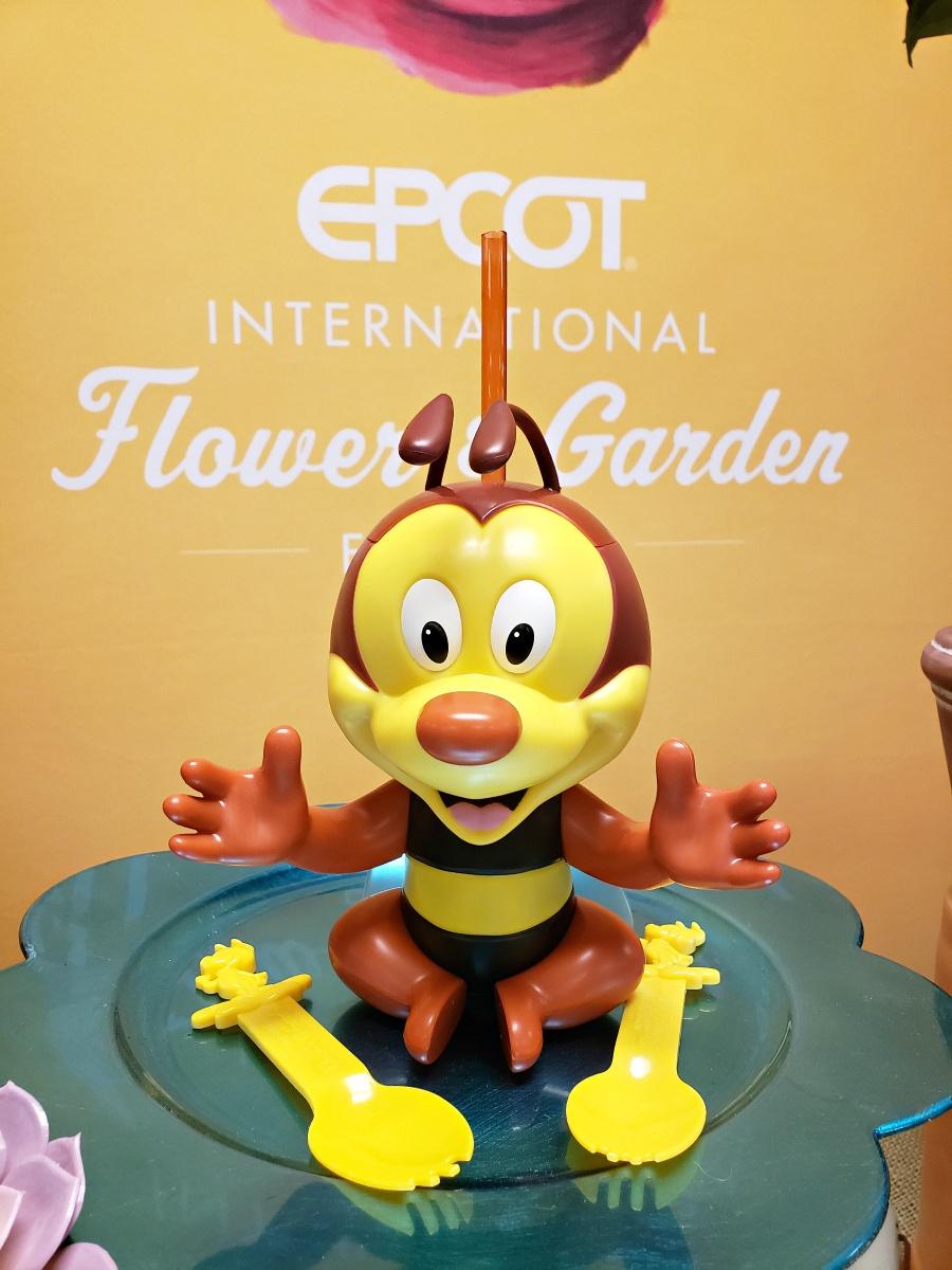 Epcot Flower & Garden Festival Spike The Bee Sipper