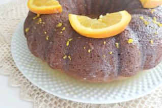 Orange and Banana Bundt Cake