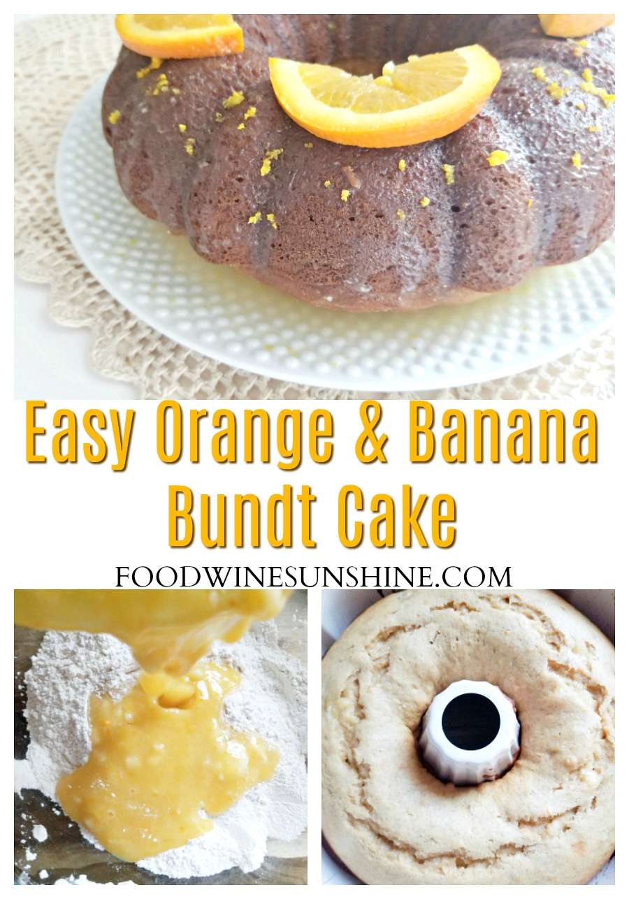 Best Banana and Orange Bundt Cake