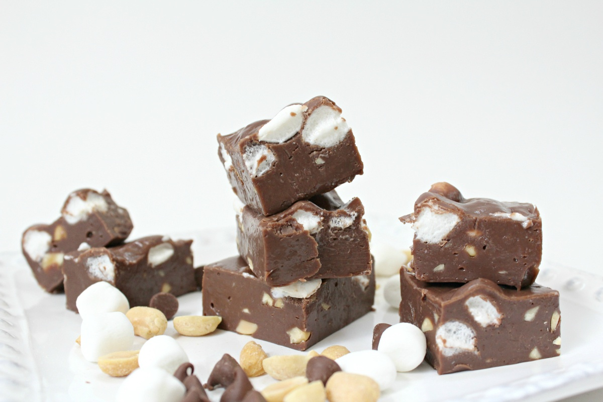 How to make Rocky Road Fudge
