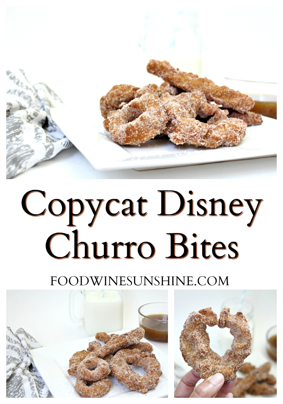 Copy Cat Disney Churro Bites