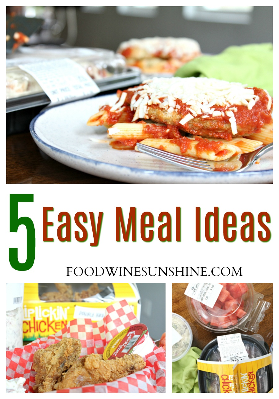 Easy Dinner Meal Ideas For Families