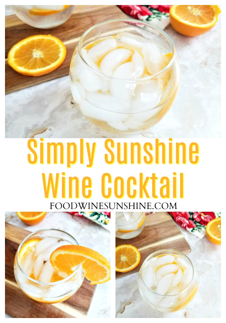 Easy Simply Sunshine Wine Cocktail