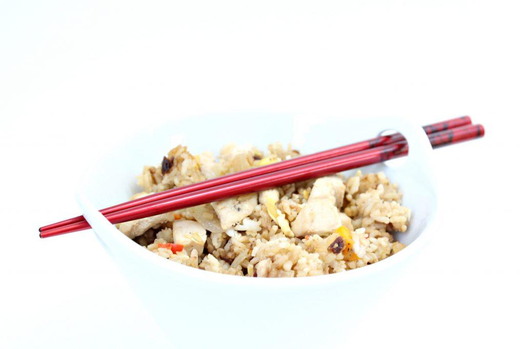 Chicken Fried Rice Red Chopsticks