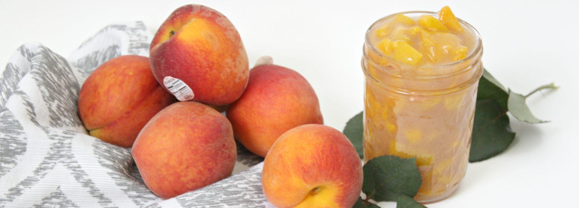Homemade Peach Pie Filling