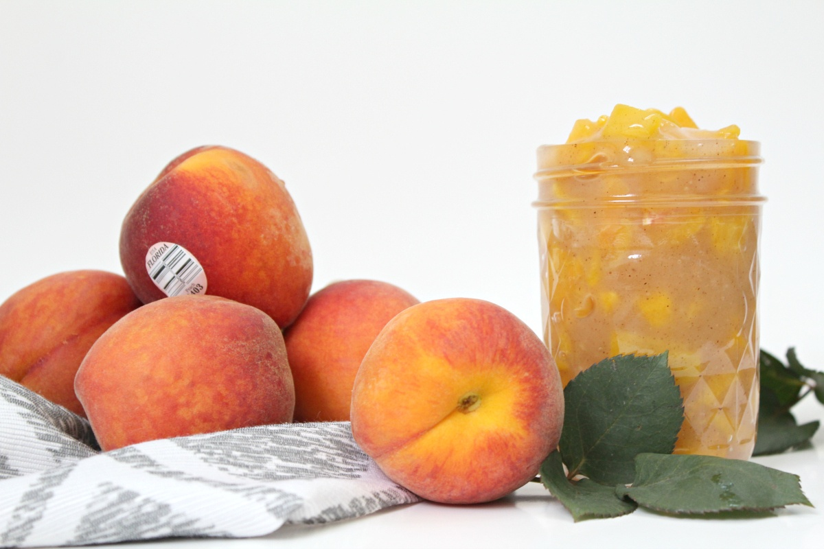 How to make Peach Pie Filling