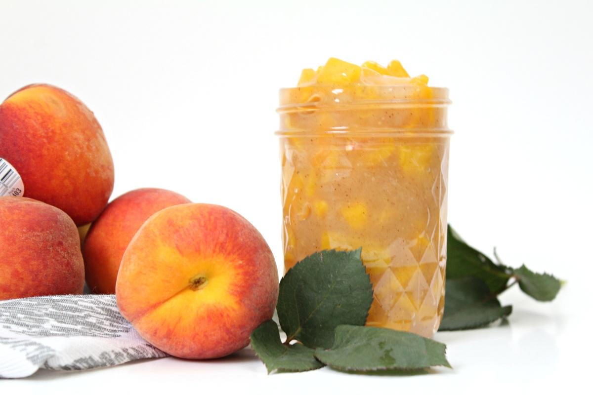 Easiest Homemade Peach Pie Filling