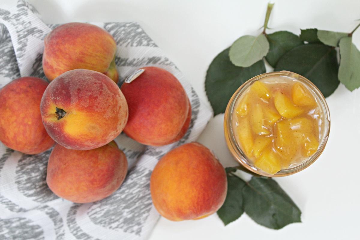 Easy Peach Pie Filling