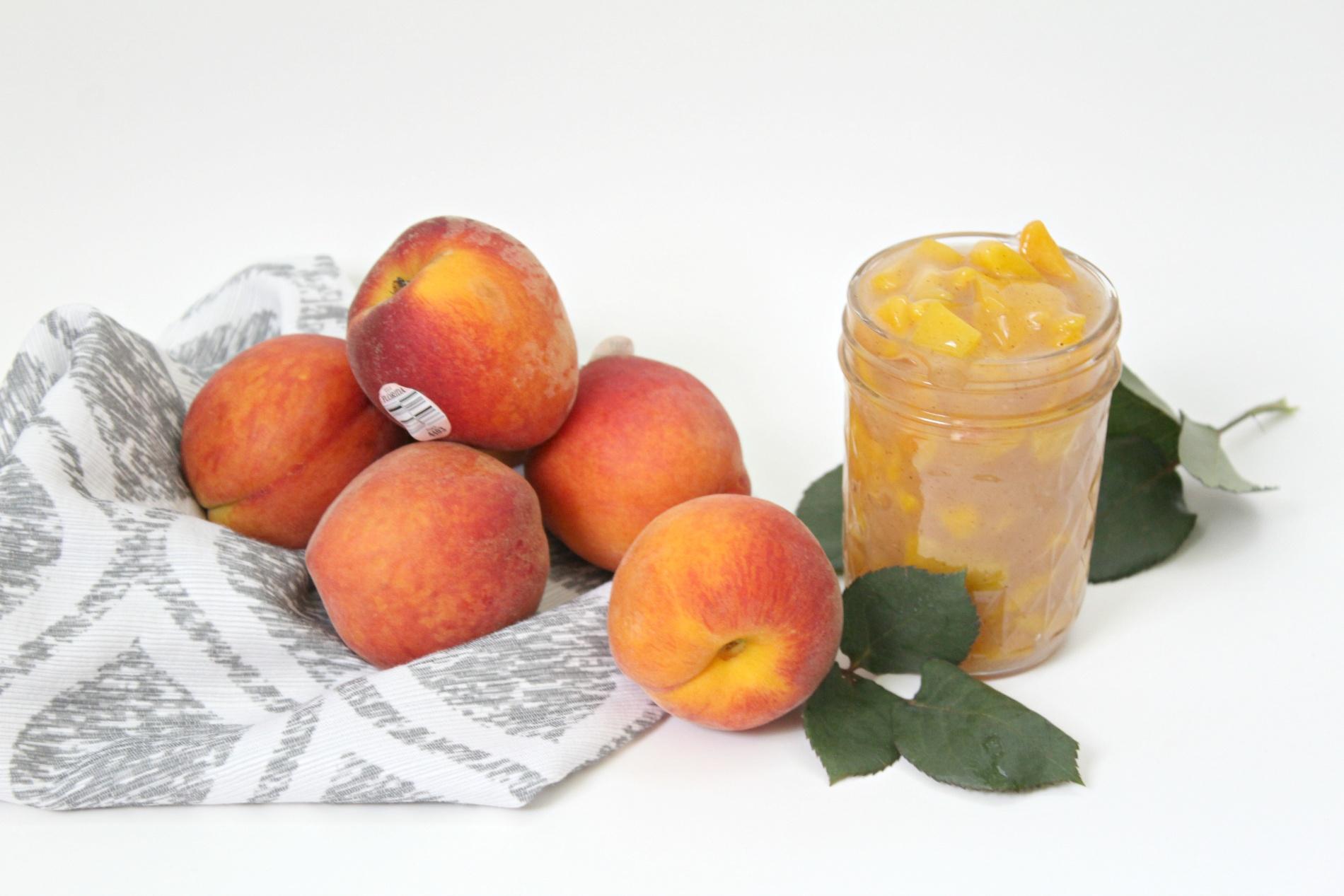 Tasty Peach Pie Filling
