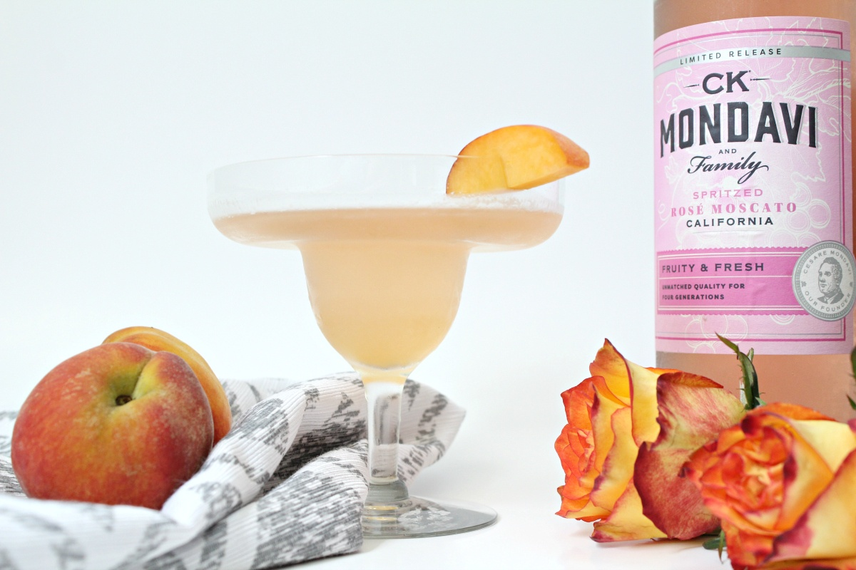 Just Peachy Wine Cocktail