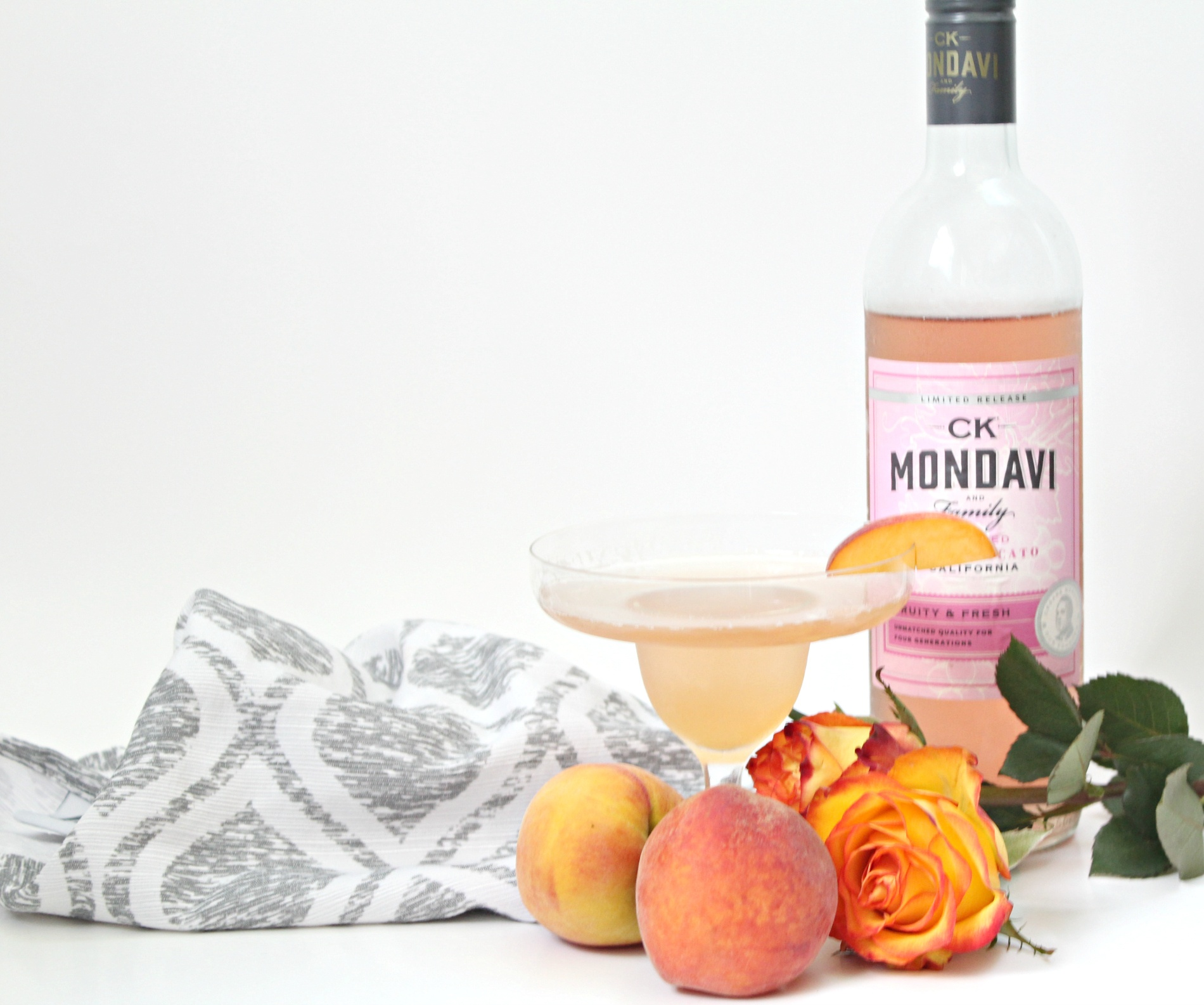 Just Peachy Martini
