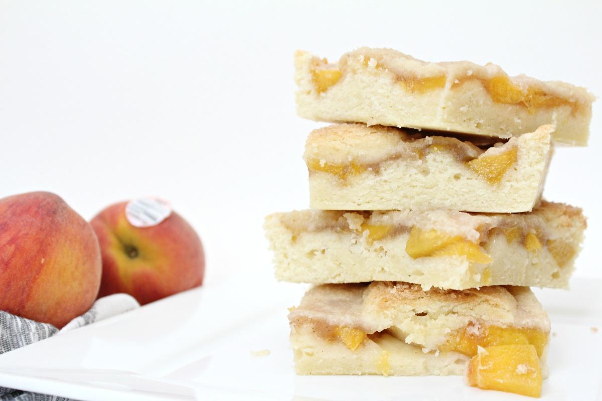 Best Peach Pie Cookie Bars