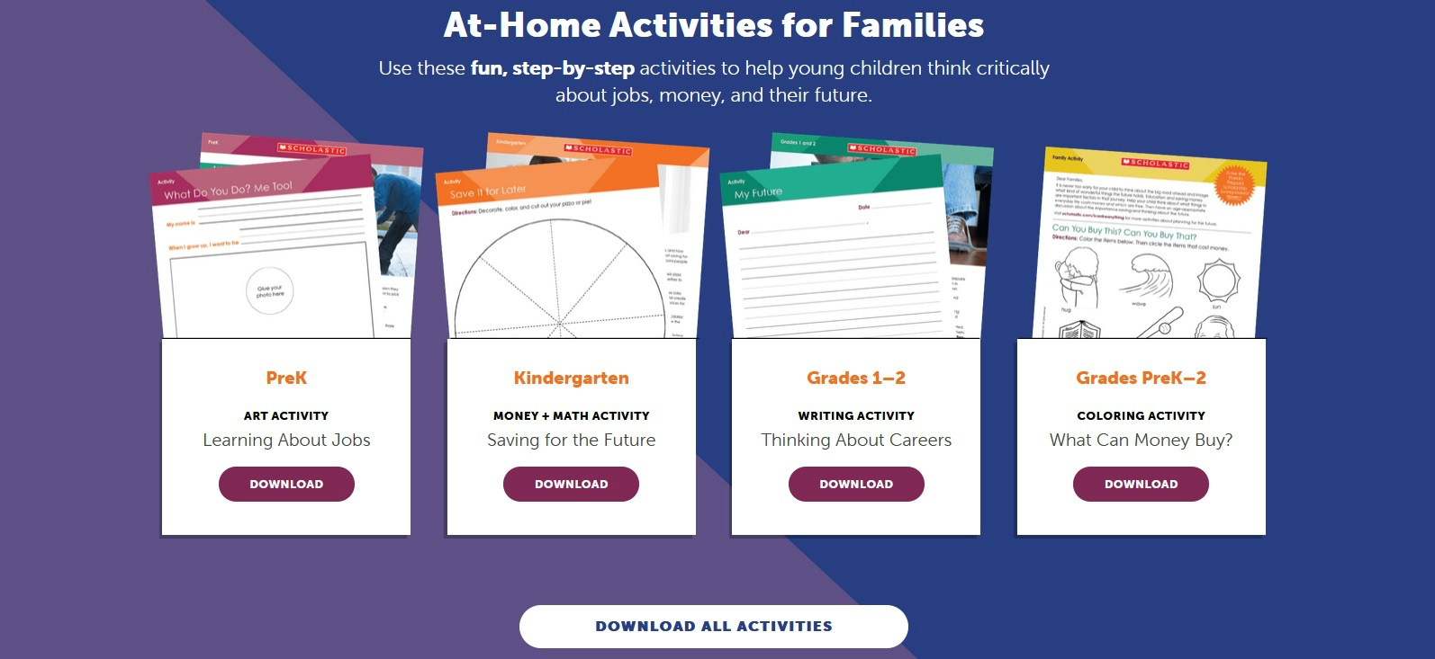 Free At Home Learning Activities