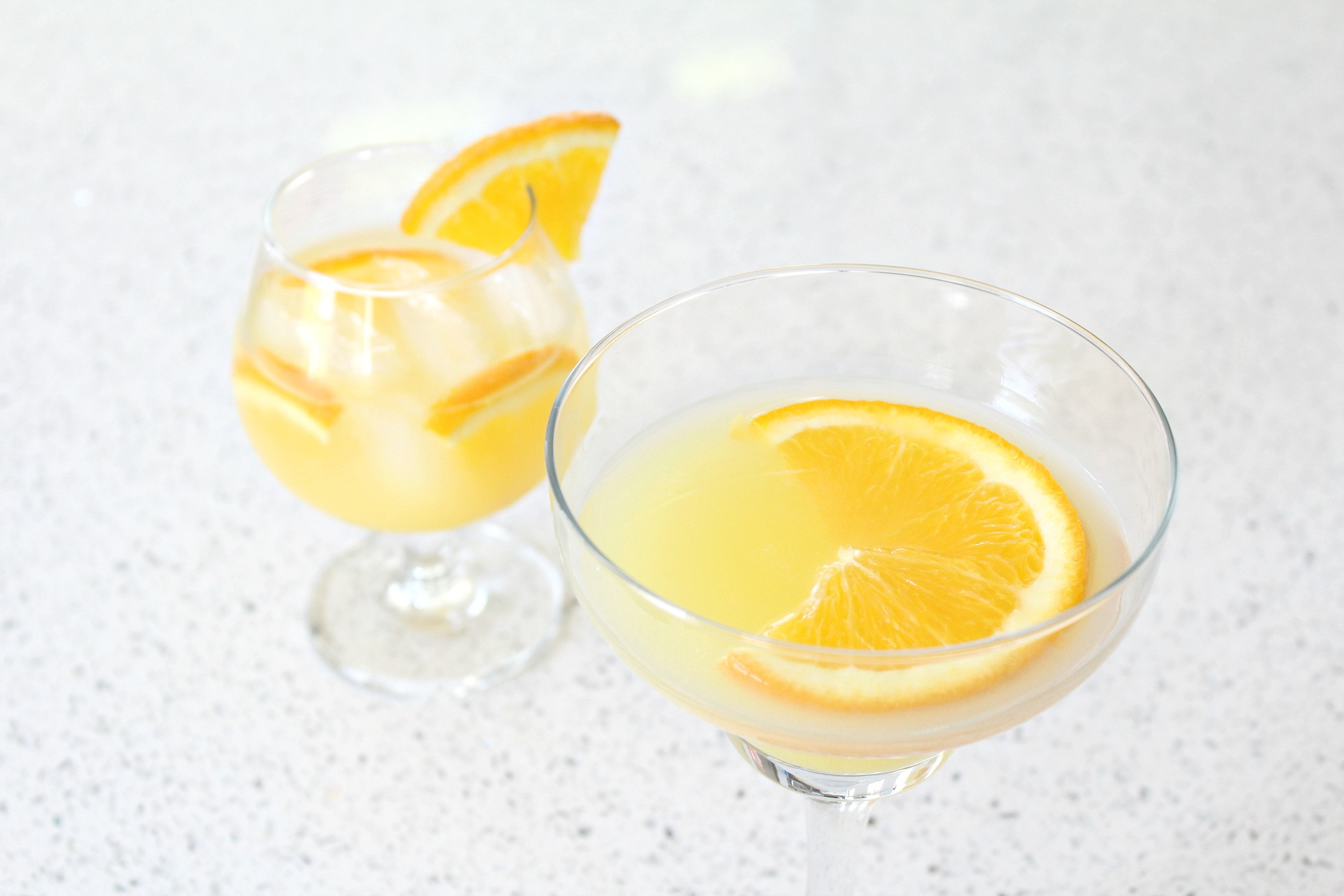 Orange Blossom Gin Cocktail