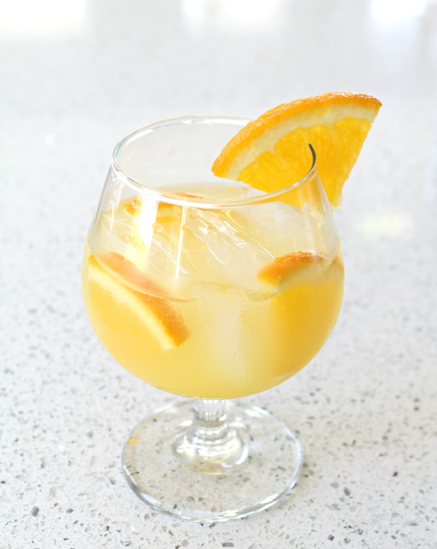 Tasty Orange Blossom Gin Cocktail