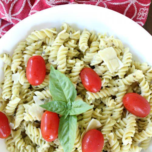 Pesto Alfredo Pasta