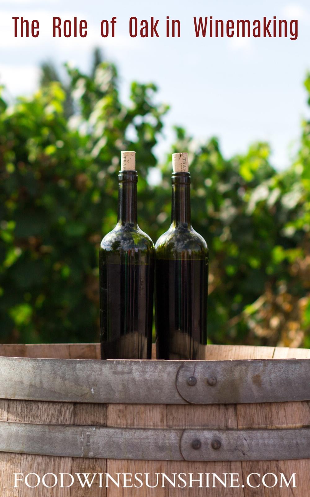 Role Of Using Oak In Winemaking