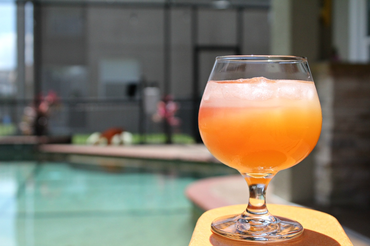Florida Sunset Cocktail