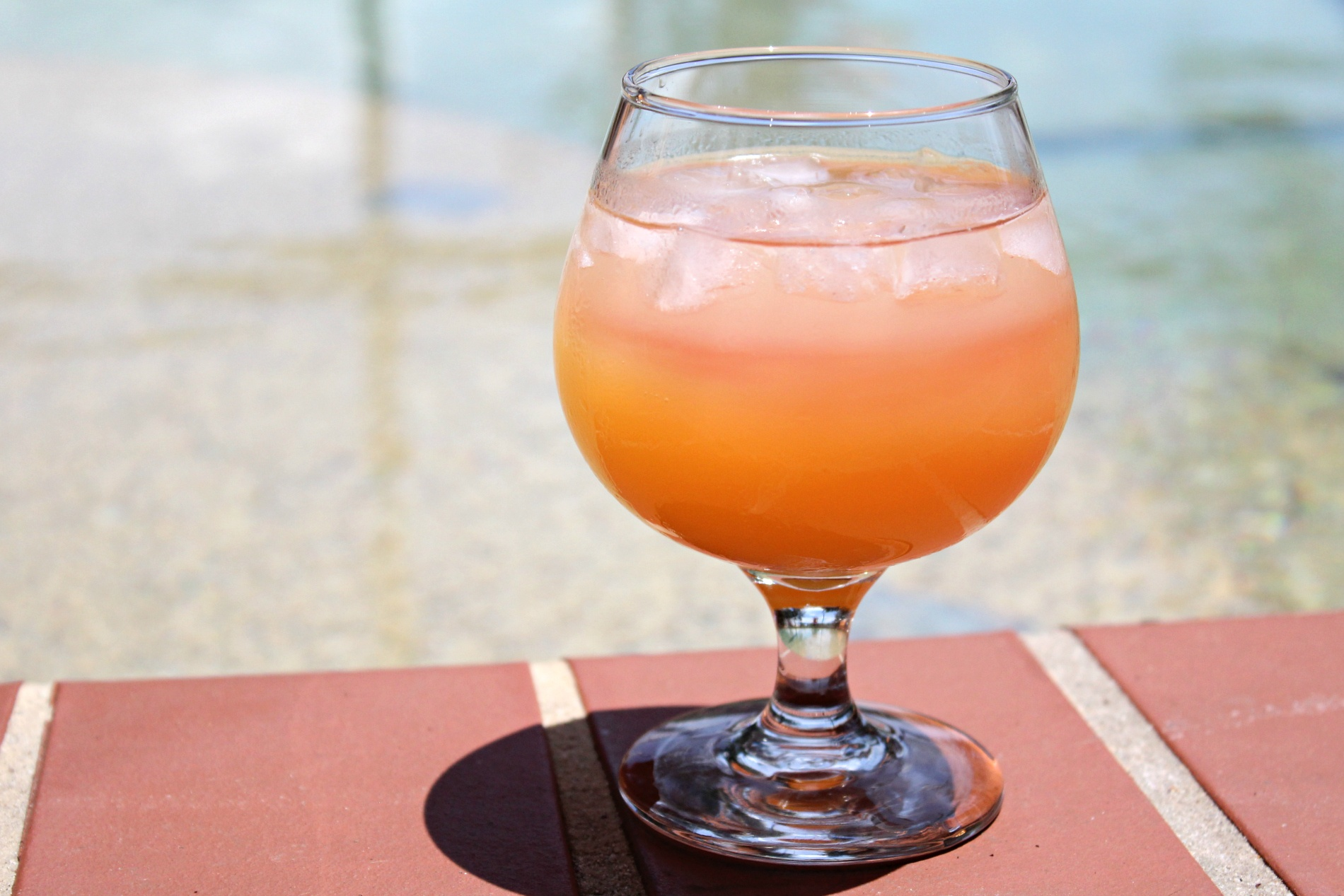 Easy Florida Sunset Vodka Cocktail