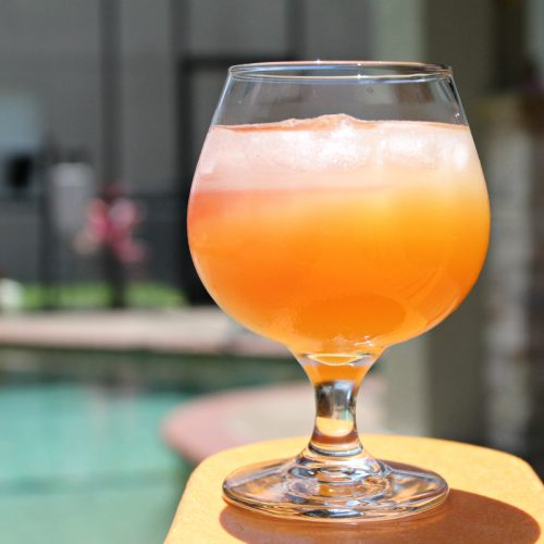 Summer Sunset Cocktail