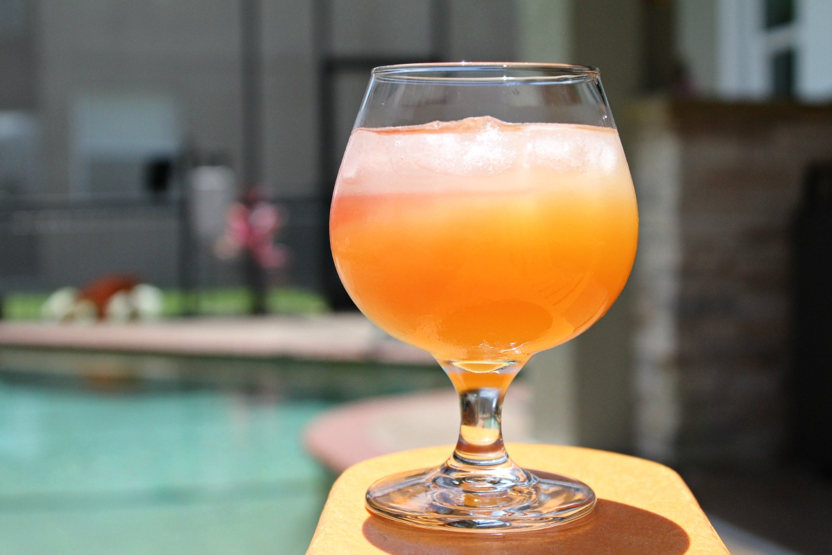Florida Sunset Vodka Cocktail