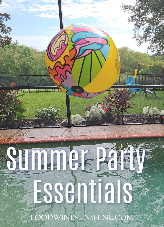 Summer Party Checklist