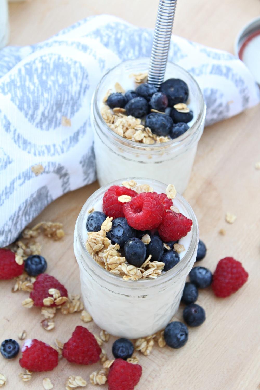 Homemade Yogurt parfaits