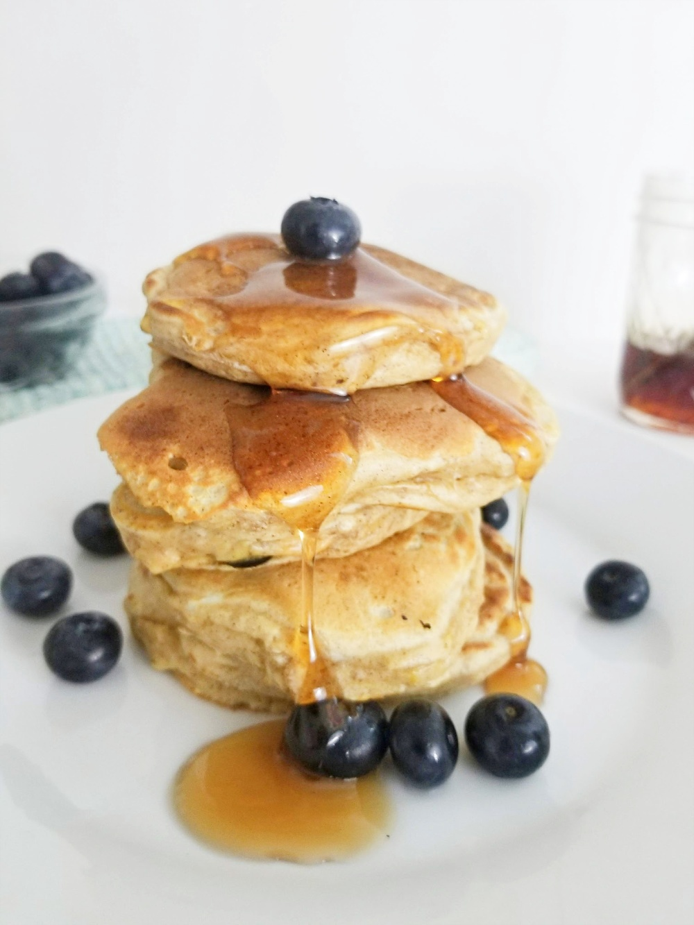 Best Homemade Blueberry Pancakes