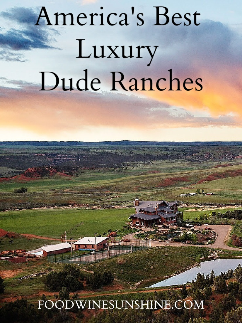 5 Of America's Best Luxury Dude Ranches | Vacation in the great outdoors and experience outdoor adventures, luxury and so much more. Here are five of America's best luxury dude ranches. Read more travel tips, traveling on a budget, travel destinations and more on foodwinesunshine.com | Food Wine Sunshine #travel #traveldestinations #travelonabudget #travelblog #travelblogger