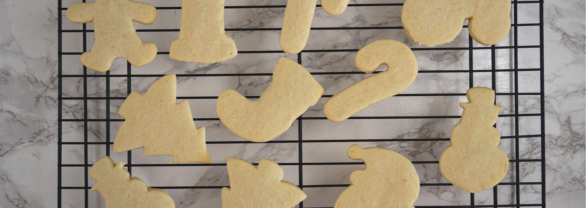 christmas sugar cookies baked