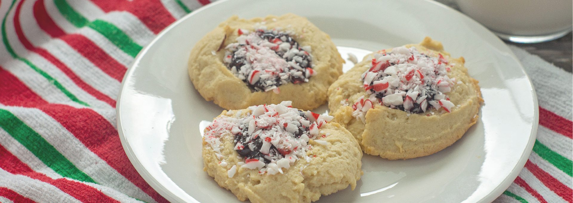 Chocolate Peppermint Ganache Cookies Feature