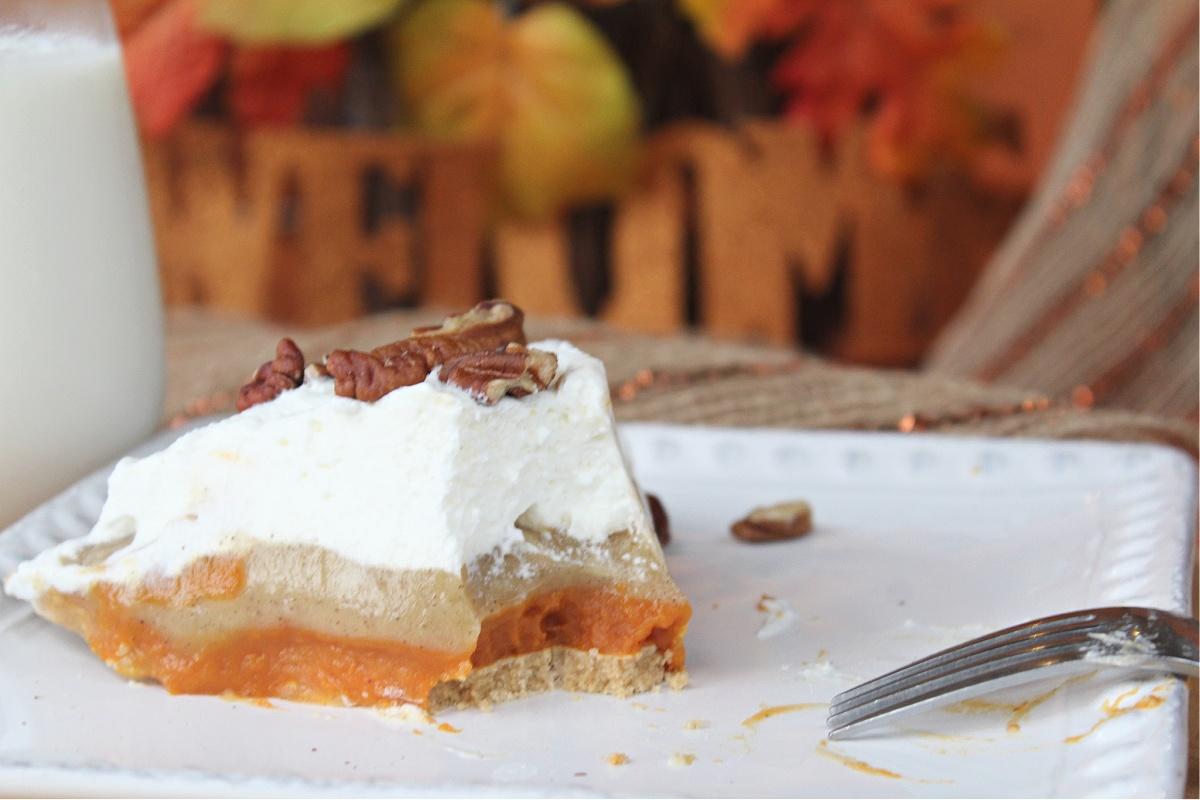 Best Pumpkin Spice Pudding Pie