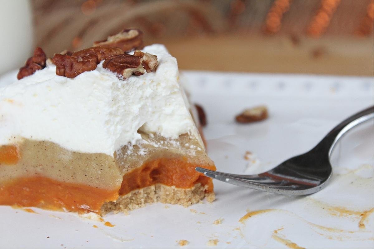 Tasty No Bake Pumpkin Pudding Pie