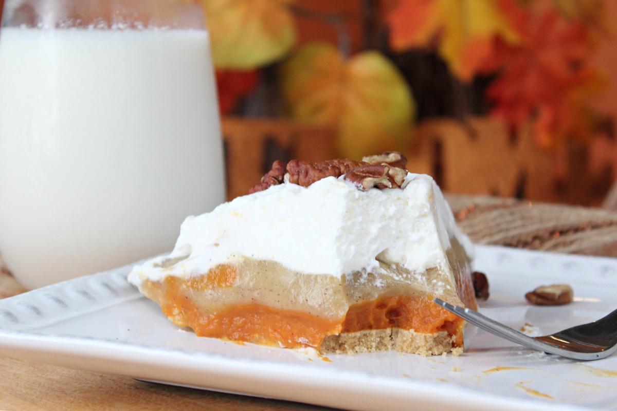 Easy No Bake Pumpkin Pudding Pie