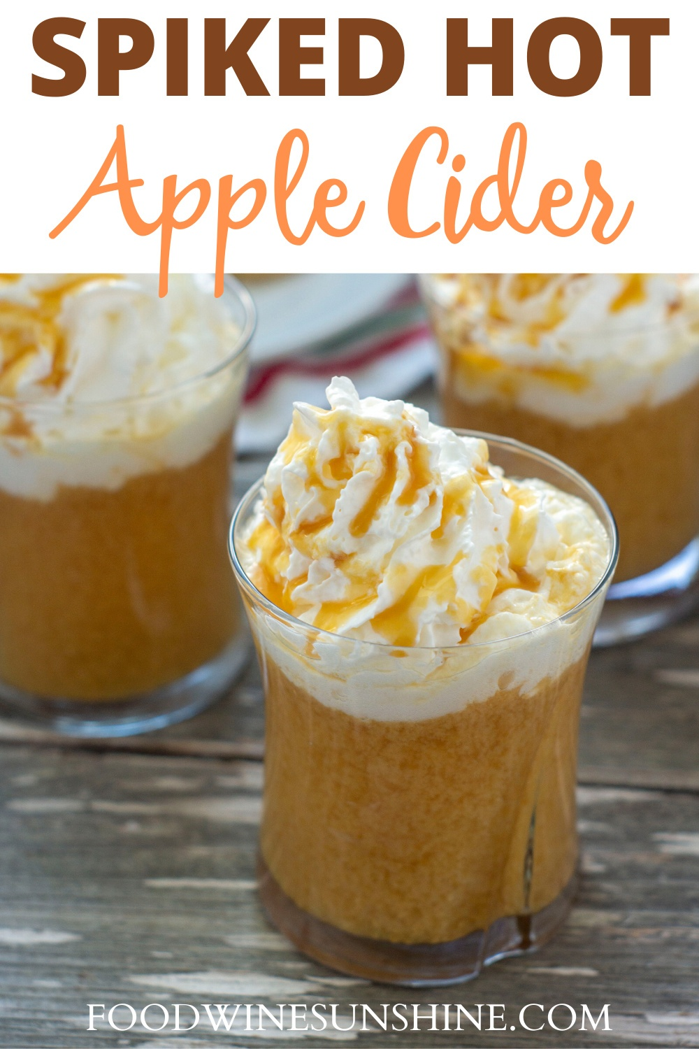 How To Make Spiked Hot Apple Cider