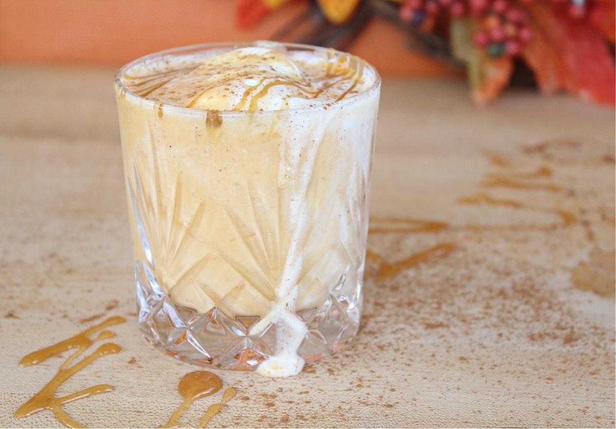Spiked Pumpkin Spice Milkshake