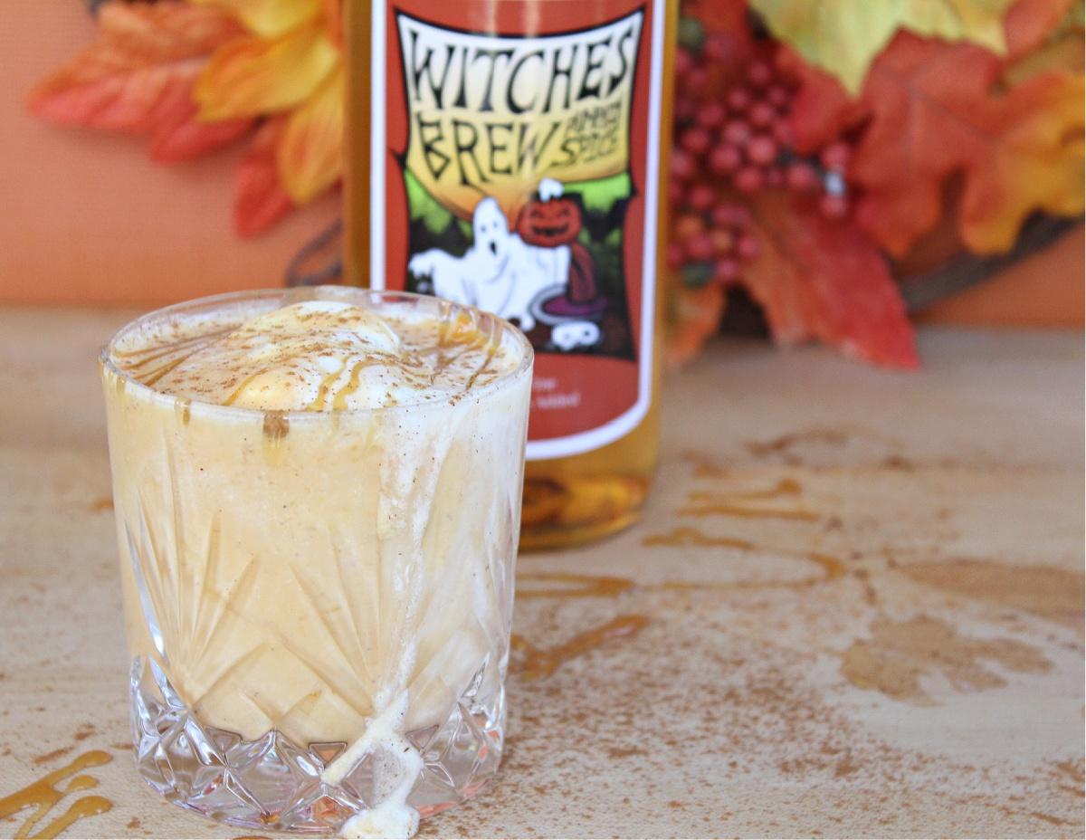 Tasty Boozy Pumpkin Milkshake