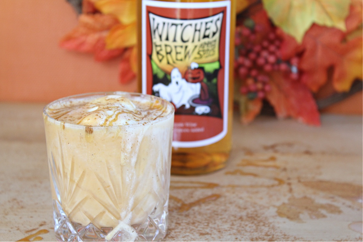 Boozy Witches Brew Pumpkin Spice Milkshake