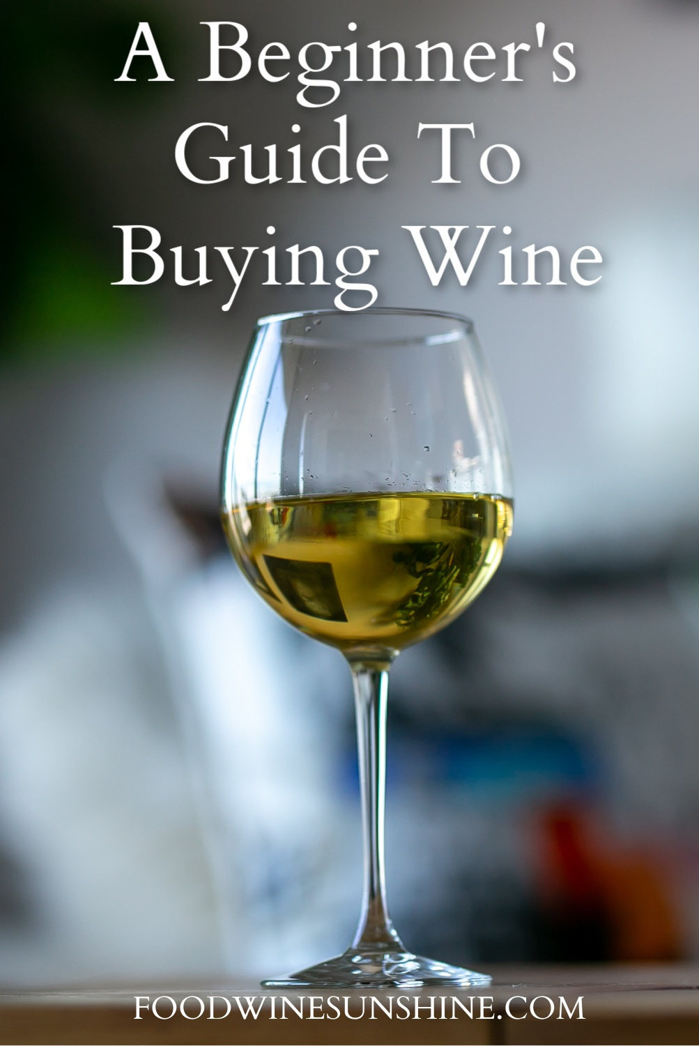 A Beginner's Guide To Buying Wine