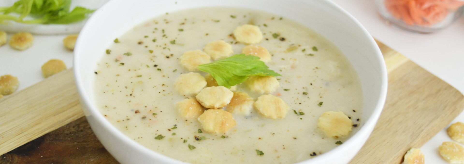 Instant Pot Clam Chowder Feature