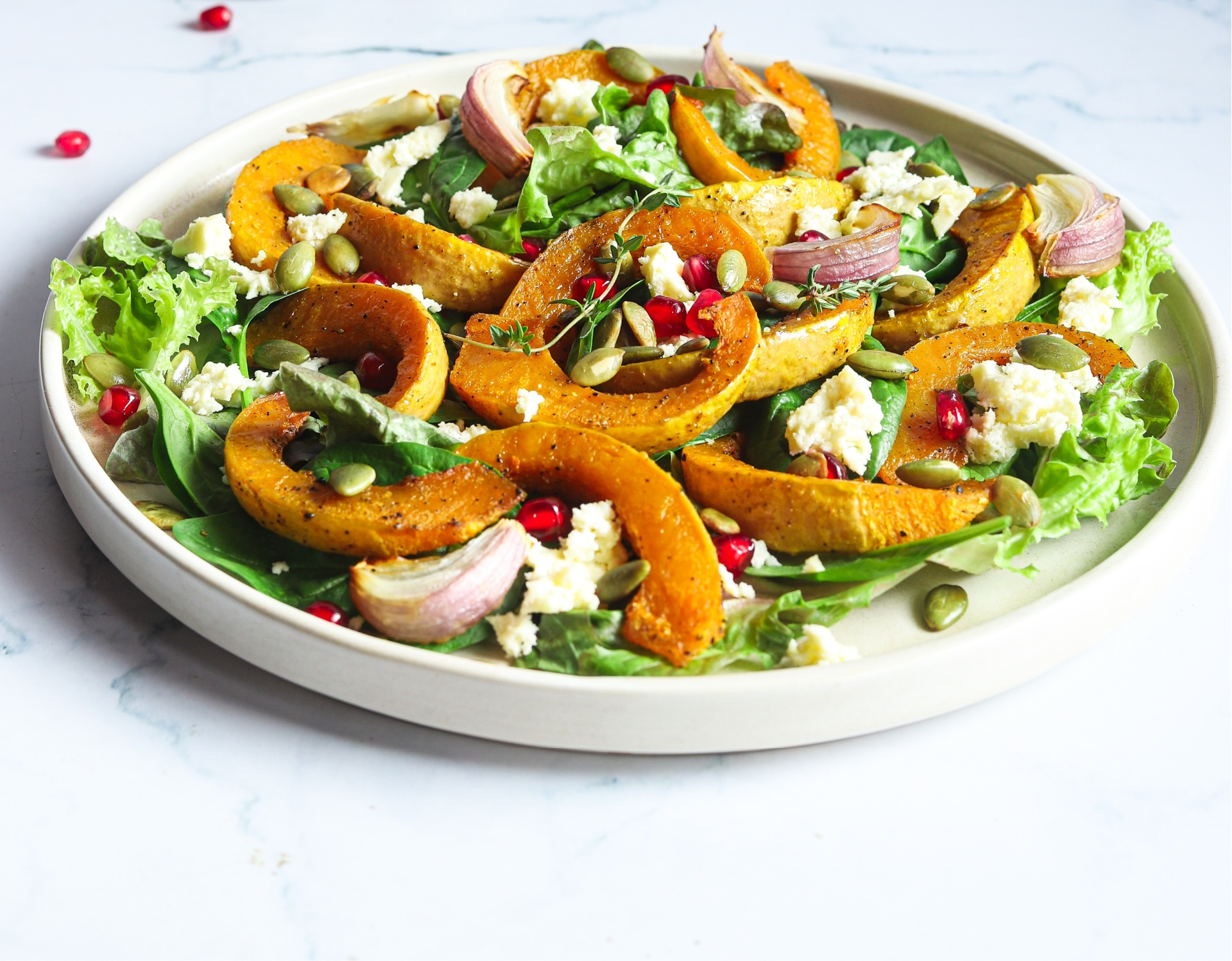 Tasty Roasted Pumpkin Salad